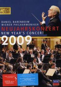 Cover Wiener Philharmoniker / Daniel Barenboim - Neujahrskonzert 2009 [DVD]